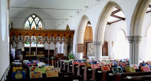 Coltishall Church, interior