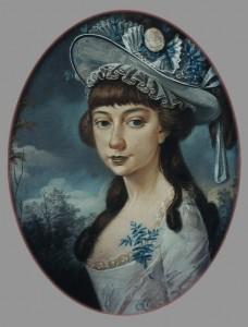 Mary Ann Hardy in 1785