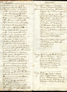 Raven Hardy's entries, 27-29 Nov. 1782