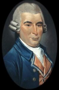 William Hardy in 1785